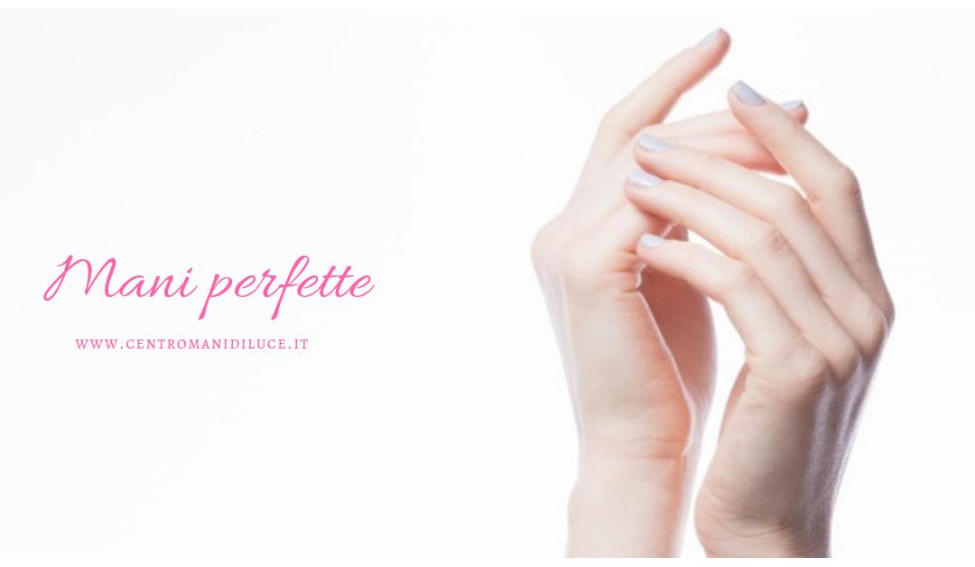 Le tue mani sempre perfette!